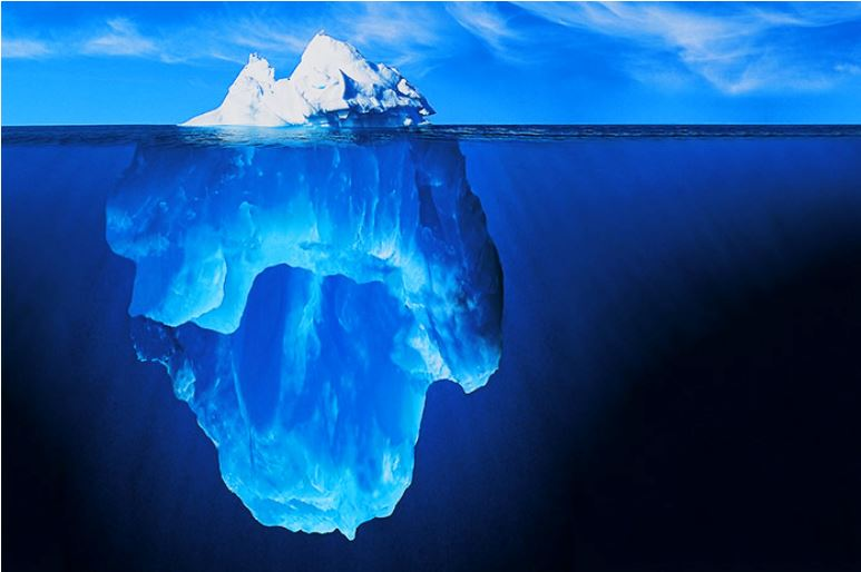 La théorie de l'Iceberg